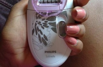 Philips Satinelle HP6401 Cheap Epilator for Newcomers