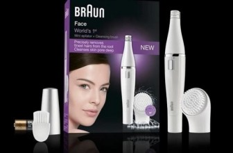 Braun Face Epilator and Facial Cleansing Brush Review
