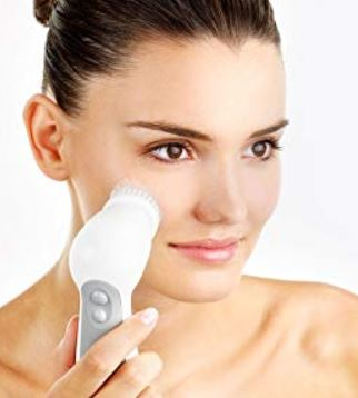 braun facial brush with silk epil 9
